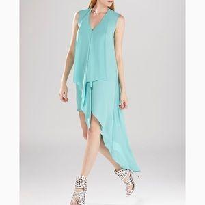 BCBG Tara Cascade Hi-low Dress